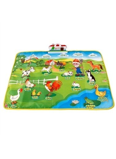 Birlik Oyuncak Birlik Oyuncak Birlik Eğitici Çiftlik Halısı Çocuk Oyun Alanı Renkli